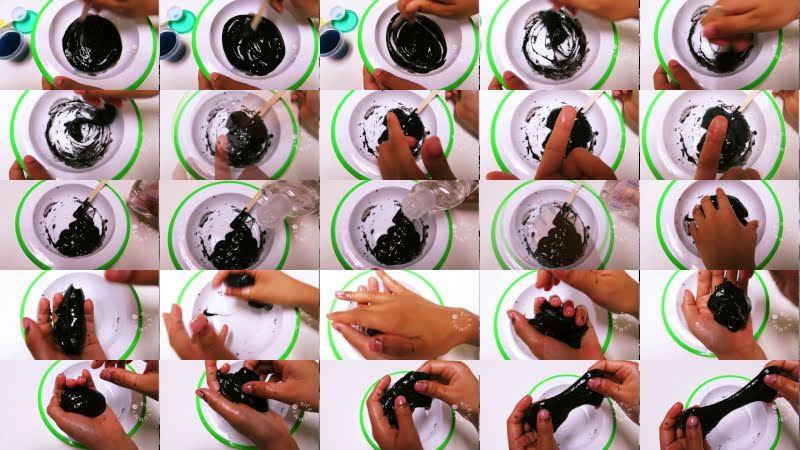 How to make slime without borax steps