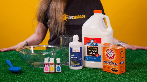 Ingredients needed in slime making with glue