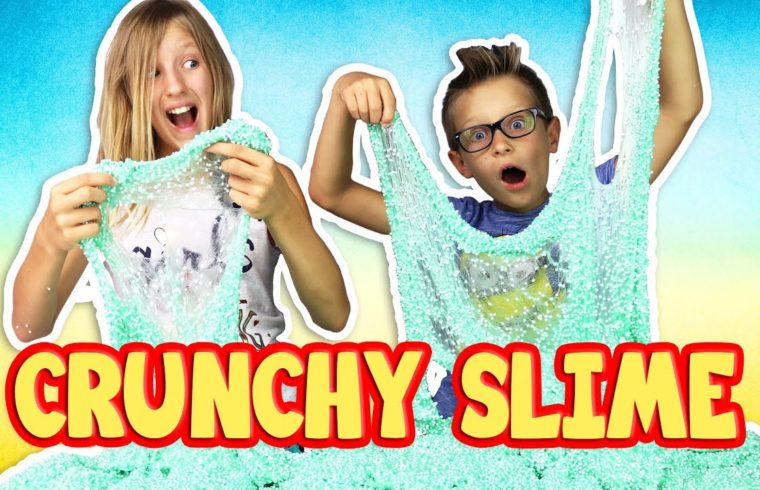 how to make crunchy slime