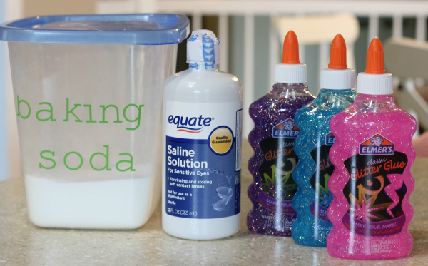 ingredients to make slime with contact solution