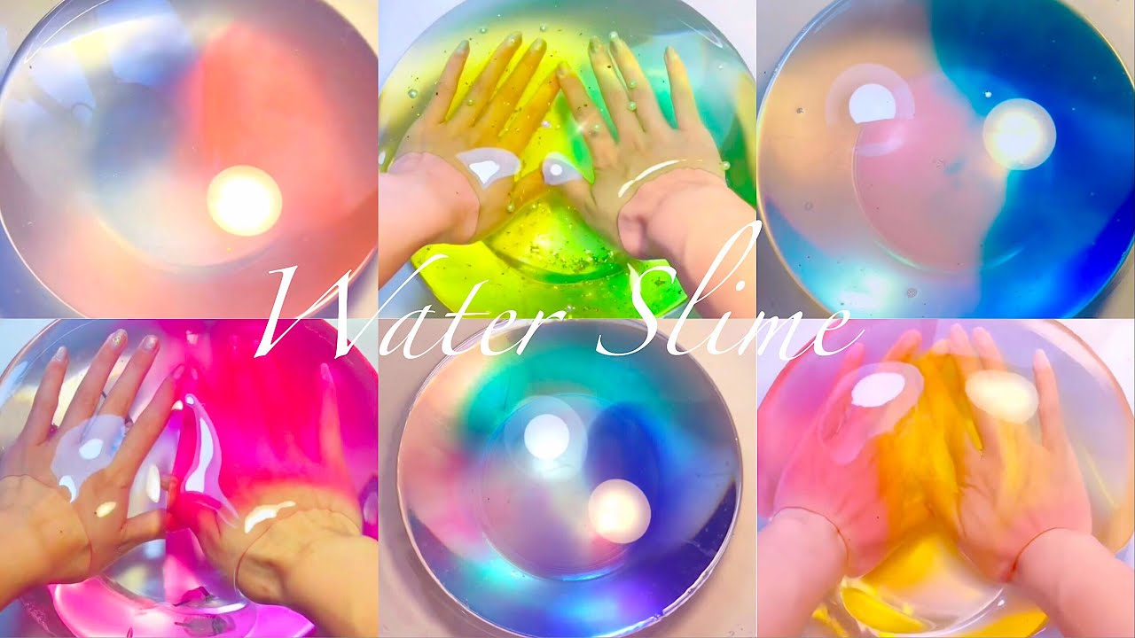 how to make water slime